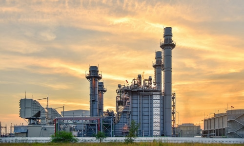 Kraftwerke und Recycling