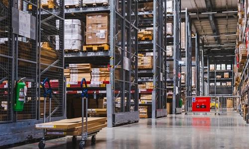 Logistikzentren und Lager