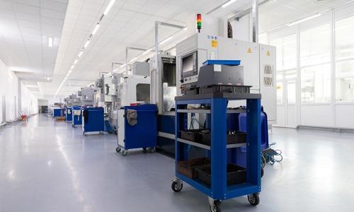 Metall- und Kunststoffindustrie