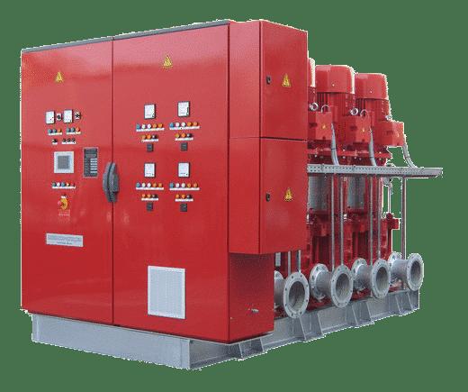 Druckerhöhungstation H-MCV 4…SX