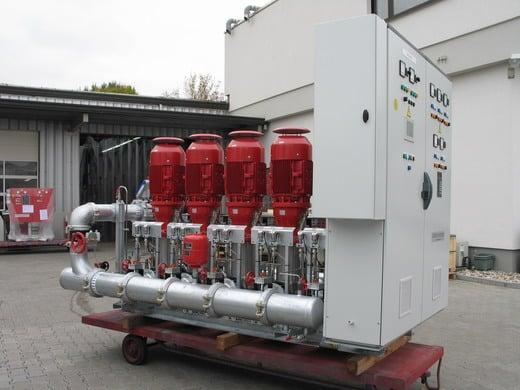 Druckerhöhungstation H-MCV 5…SX