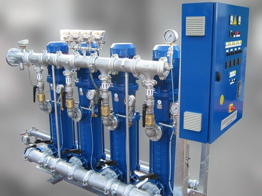 Druckerhöhungstation H-MCV 4...