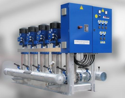 Druckerhöhungstation H-MCV 5…