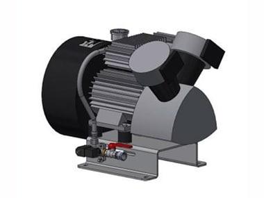 Kompressor für Druckluftwasserbehälter
